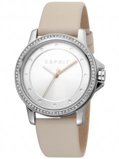 Esprit ES1L143L0025 Dress Vanilla Uhr Damenuhr Lederarmband beige