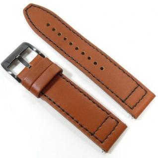 Fossil Uhrband LB-CH2666 Original CH 2666 Lederband 22 mm