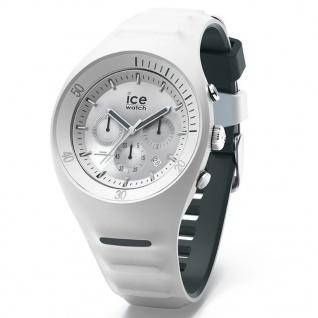 Ice-Watch 014943 ICE P.Leclecq White Large CH Uhr Chrono Datum Weiß