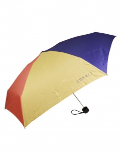 Esprit 51976 Petito viola combination Regenschirm Taschenschirm