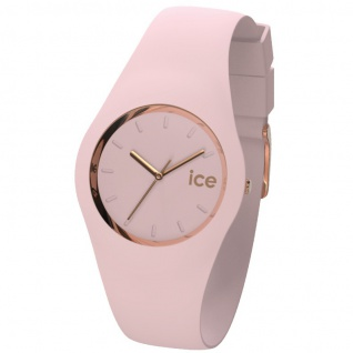 Ice-Watch ICE.GL.PL.S.S.14 ICE GLAM PASTEL Pink Lady Small Uhr rosa