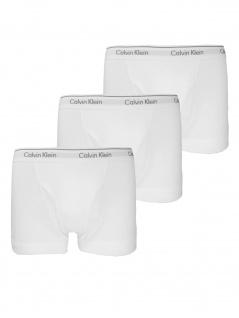 Calvin Klein Herren Boxershort 3er Pack Trunk Gr. S Weiß NB1893A-100