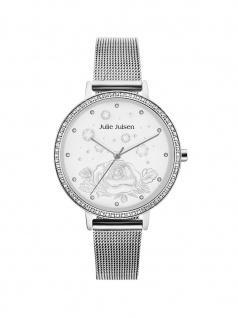 Julie Julsen JJW51SME Uhr Damenuhr Edelstahl Silber