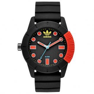 Adidas ADH3176 Uhr Herrenuhr Kautschuk schwarz