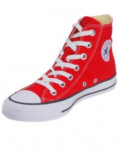 Converse Herren Schuhe CT All Star Hi Rot Leinen Sneakers Gr. 42 - Vorschau 2
