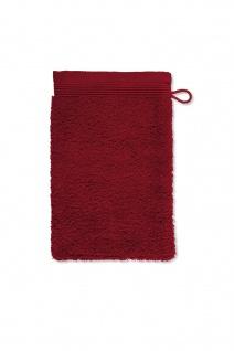 Möve Superwuschel Waschhandschuh 15x20 cm ruby