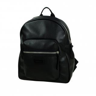 Esprit Anna Backpack Schwarz ca. 18L Freizeit Rucksack 127EA1O006-E001