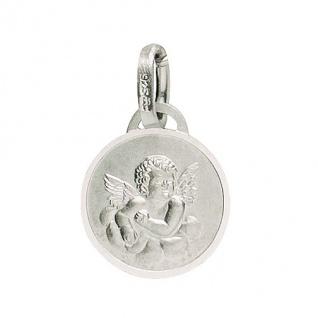 Basic Silber 22.233 Kinder Anhänger Schutzengel Silber