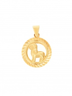 Gerry Eder 24.9021WI Anhänger Widder 14 Karat (585) Gelbgold Gold