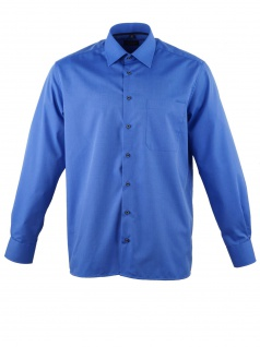 Eterna Herren Hemd Langarm Comfort Fit 3070/16/E18E Blau XXXL/48