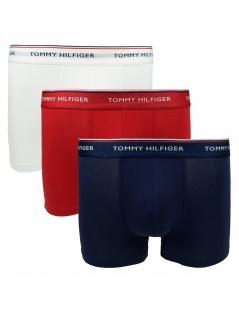 Tommy Hilfiger Herren Boxershort 3er Pack Trunk Gr. M Mehrfarbig