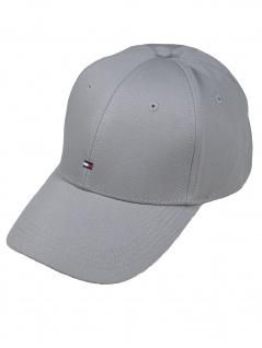 Tommy Hilfiger Kappe Cap Baseballcap Classic BB Cap OneSize Grau