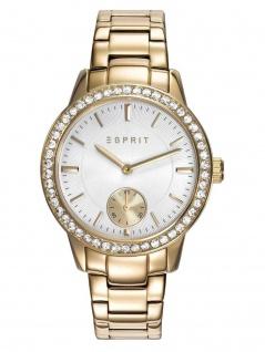 Esprit ES109482002 Uhr Damenuhr Edelstahl Gold