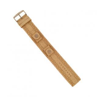 Fossil Uhrband LB-JR9010 Original Lederband creme/beige