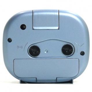 W&S 600105 Wecker Uhr blau-weiß Analog Licht Alarm - Vorschau 3
