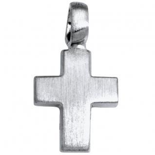 Basic Silber SKE09 Damen Anhänger Kreuz Silber