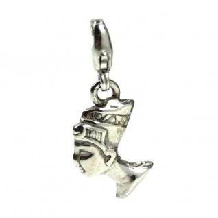 Basic Silber 22.VX372 Damen Charms Nofretete Silber
