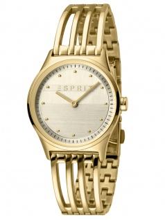 Esprit ES1L031M0035 UNITY Uhr Damenuhr Edelstahl Gold