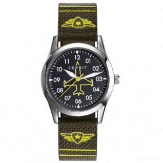 Esprit ES906514002 tp90651 green Uhr Junge Kinderuhr Lederarmband grün