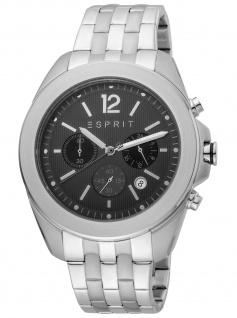 Esprit ES1G159M0075 Field Chrono Chronograph Herrenuhr Datum silber