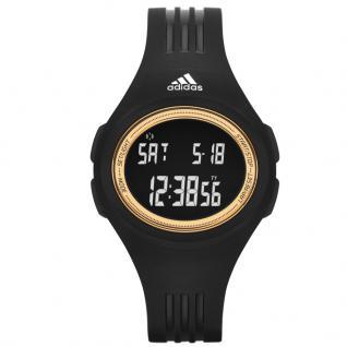 Adidas ADP3158 Uhr Damenuhr Kunststoff Datum Alarm Schwarz