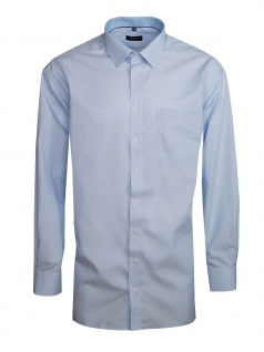 Eterna Herren Hemd Langarm Comfort Fit 8476/12/E15P Blau XXXL/48