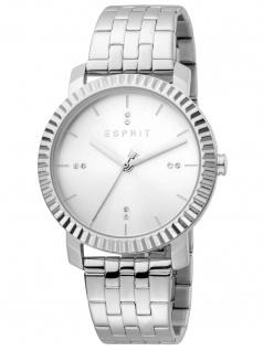 Esprit ES1L185M0045 Menlo Silver Uhr Damenuhr silber