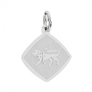 Basic Silber 24.9018SLO Damen Anhänger Sternzeichen Löwe Silber