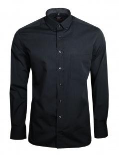 Eterna Herren Hemd Langarm Modern Fit Hemden 3070/38/X143 Grau L/41