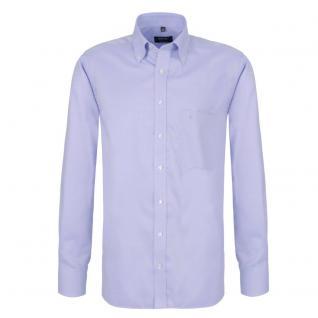 Eterna Herrenhemd Hemd Langarm Comfort Fit Blau Gr XXL/45 4660/10/E194