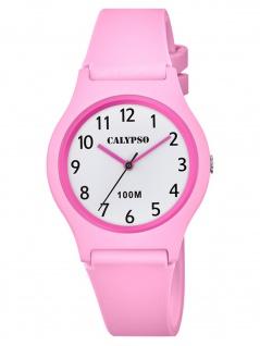 Calypso K5798/1 Uhr Mädchen Kinderuhr Kunststoff rosa