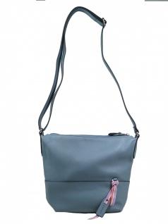 Esprit Damen Handtasche Tasche Schultertasche Faith shoulderbag Blau