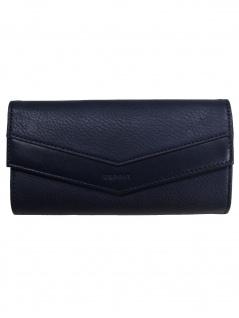 Esprit Damen Geldbörse Portemonnaies Kara flat Chlutch Blau