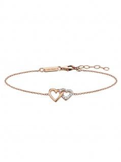Julie Julsen JJBR0263.2 Damen Armband Herz Sterling-Silber 925 19 cm