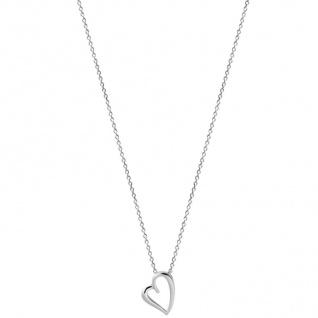 XENOX XS2796 Damen Collier Herz Love Story Silber 45 cm