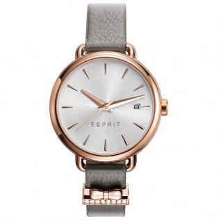 Esprit ES109402003 TP10940 TAUPE Uhr Damenuhr Lederarmband braun rose