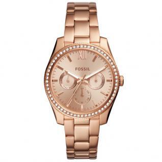 Fossil ES4315 Scarlette Uhr Damenuhr Edelstahl Rose