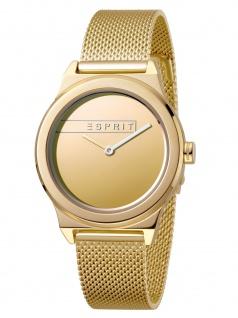 Esprit ES1L019M0085 Magnolia Gold Mesh Uhr Damenuhr Edelstahl Gold