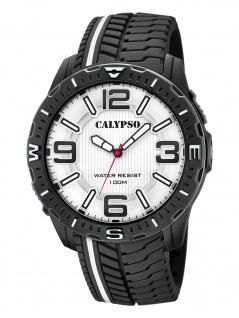 Calypso K5762/1 Uhr Herrenuhr Kunststoff schwarz