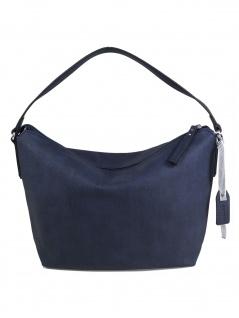 Esprit Damen Handtasche Tasche Henkeltasche Davina Hobo Blau