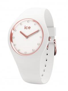 Ice-Watch 016300 ICE cosmos White Rose-gold Small Uhr Damenuhr Weiß