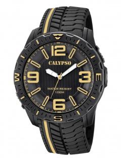 Calypso K5762/6 Uhr Herrenuhr Kunststoff schwarz