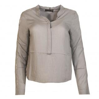 Vero Moda Damen Bluse Damenbluse Blusenshirt SEAL Grau Gr. XS