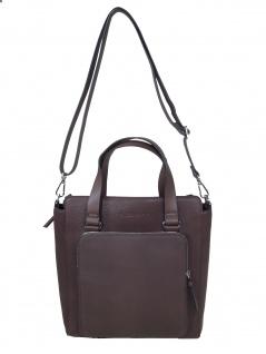 Esprit Damen Handtasche Tasche Henkeltasche Naomi Citybag Braun