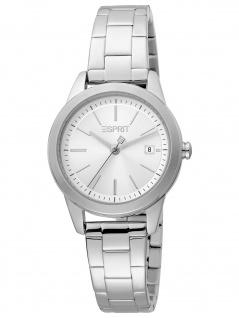 Esprit ES1L239M0055 Wind Silver MB Uhr Damenuhr Edelstahl Datum silber