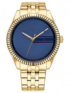 Tommy Hilfiger 1782081 LEE Uhr Damenuhr Edelstahl Gold