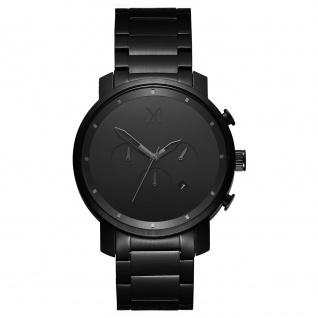 MVMT D-MC01BB CHRONO Chronograph Uhr Herrenuhr Datum Schwarz
