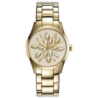 Esprit esprit tp-10889 gold Uhr Damenuhr vergoldet gold