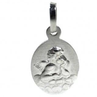 Basic Silber 22.214 Kinder Anhänger Schutzengel Silber