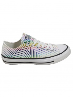Converse Damen Schuhe CT All Star Ox Weiß Leinen Sneakers 38 EU